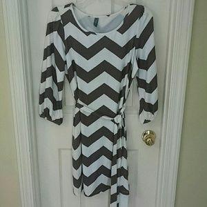 Dresses & Skirts - *Final Price*Popular Boutique Chevron Dress!